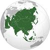Крупнейшие страны Азии (по площади и населению) на 2020 год