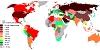 Добыча нефти по странам мира (карта + таблица)