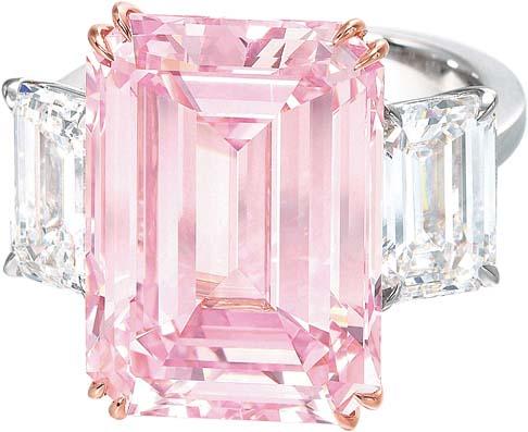 Самые дорогие бриллианты в мире: Идеальный розовый. фото