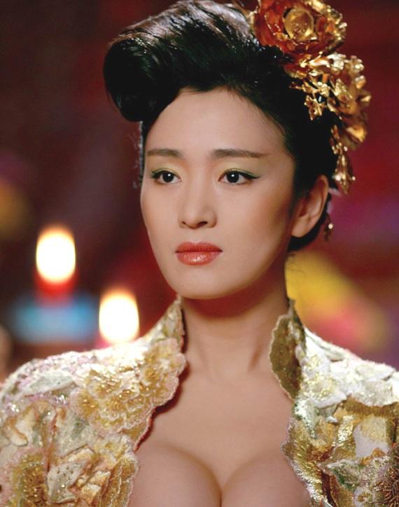 известные китайские актрисы: Гун Ли / Gong Li фото