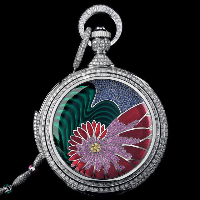 самые дорогие карманные часы в мире: Parmigiani Fleurier Fibonacci. фото