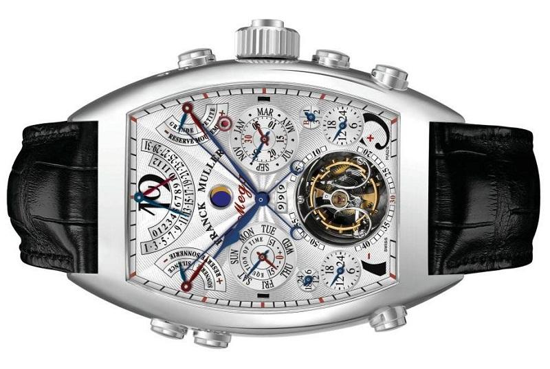 3c0a876d54b9 Franck Muller Aeternitas Mega 4 - самые сложные механические наручные часы  в мире