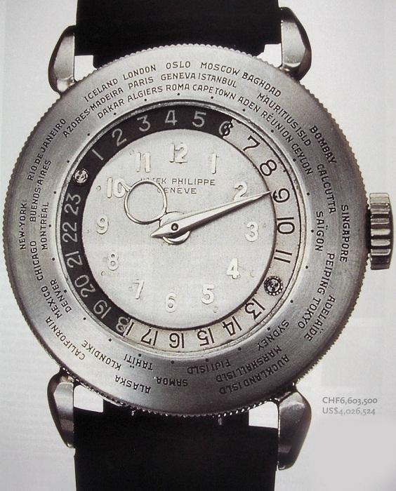 самая дорогая марка часов Patek Philippe