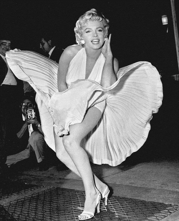 Улетающее платье Мерилин Монро. фото