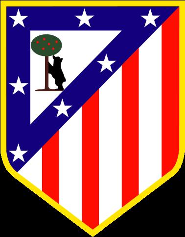 футбольный клуб Атлетико (Мадрид, Испания). эмблема. фото