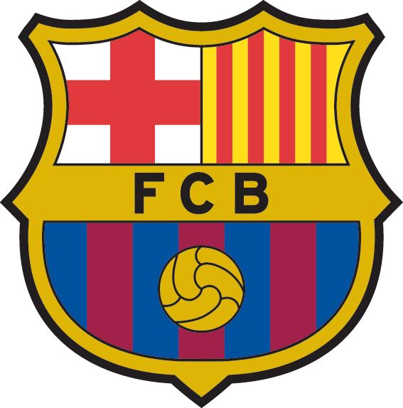 футбольный клуб Барселона (Каталония, Испания). эмблема. фото