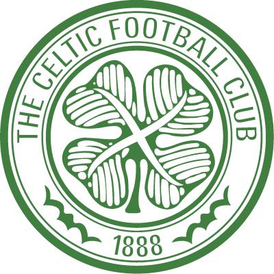 футбольный клуб Селтик (Глазго, Шотландия). эмблема. фото