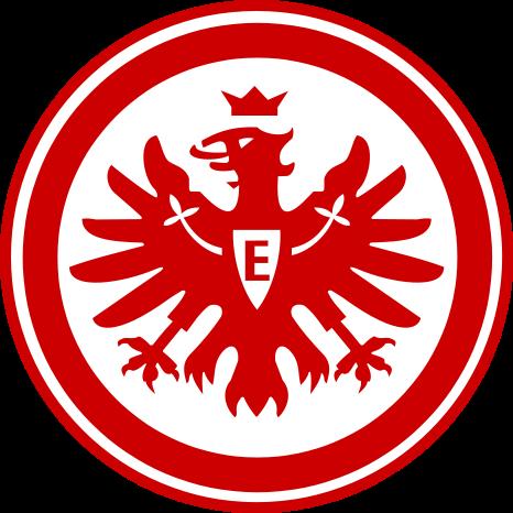 футбольный клуб Айнтрахт (Франкфурт-на-Майне, Германия). эмблема. фото