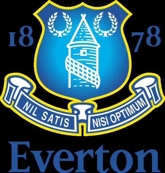 футбольный клуб Эвертон (Ливерпуль, Англия). эмблема