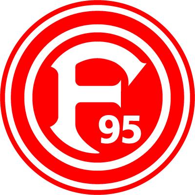 футбольный клуб Фортуна (Дюссельдорф, Германия). эмблема. фото