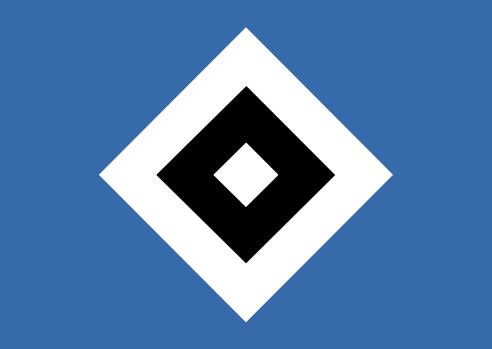 футбольный клуб Гамбург (Германия). эмблема. фото