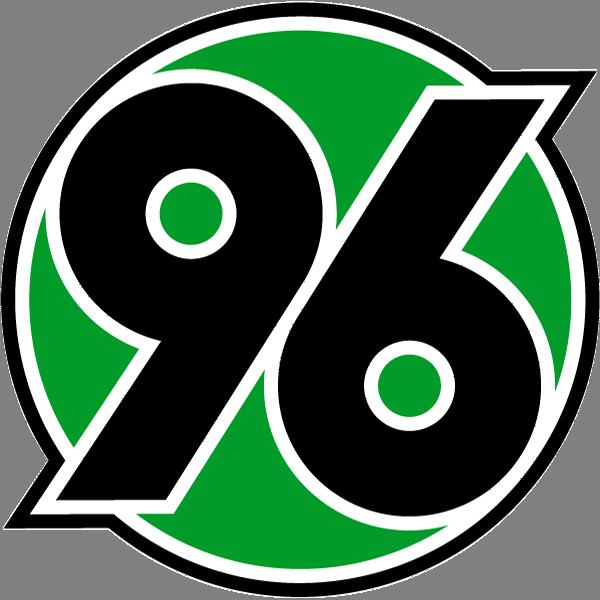футбольный клуб Ганновер 96 (Германия). эмблема. фото