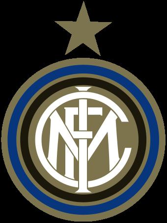 футбольный клуб Интернационале (Милан, Италия). эмблема. фото