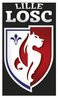 футбольный клуб Лилль (Франция). эмблема. фото