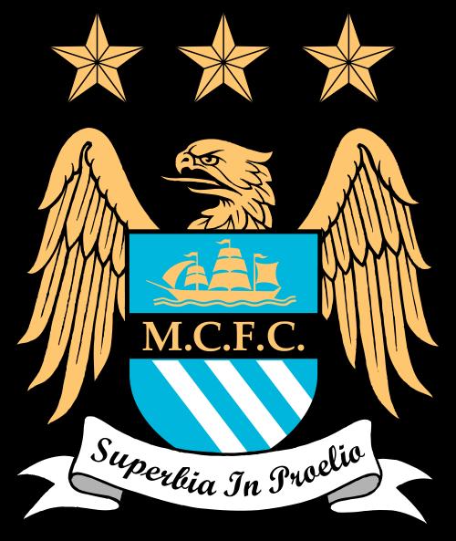 футбольный клуб Манчестер Сити (Англия). эмблема. фото