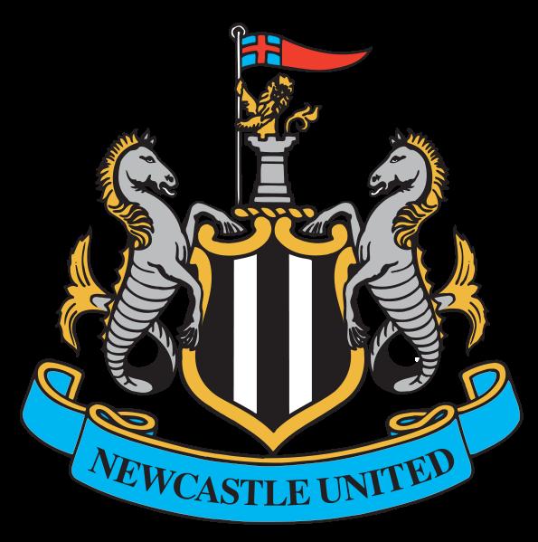 футбольный клуб Ньюкасл Юнайтед (Англия). эмблема. фото