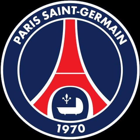 футбольный клуб Пари Сен-Жермен (Париж, Франция). эмблема. фото