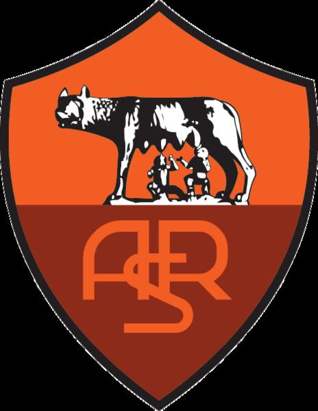футбольный клуб Рома (Рим, Италия). эмблема. фото