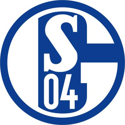 футбольный клуб Шальке 04 (Гельзенкирхен, Германия). эмблема. фото