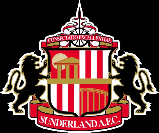 футбольный клуб Сандерленд (Англия). эмблема. фото