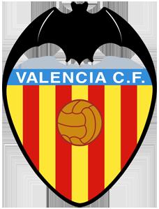 футбольный клуб Валенсия (Испания). эмблема. фото