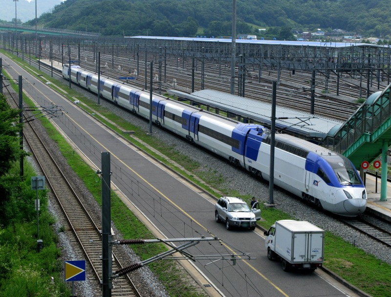 ����� ������� ���������� ������ � ����: KTX Sancheon. ����