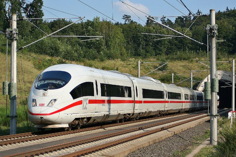 ����� ������� ���������� ������ � ����: InterCity Express (ICE). ����