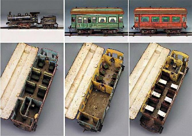 самый дорогой игрушечный поезд в мире. фото