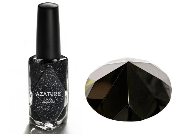 самые дорогие в мире лаки: Azature Black Diamond. фото