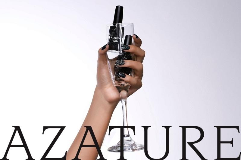 самые дорогие в мире лаки для ногтей: Azature Black Diamond. фото