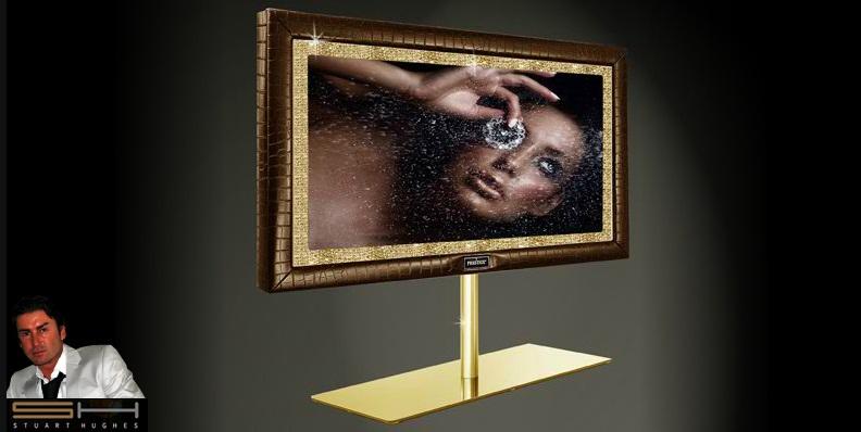 самые дорогие телевизоры в мире: PrestigeHD SUPREME Rose Edition от Стюарта Хьюза