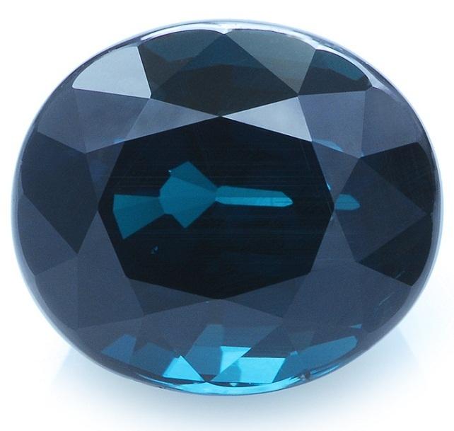 Черный драгоценный камень