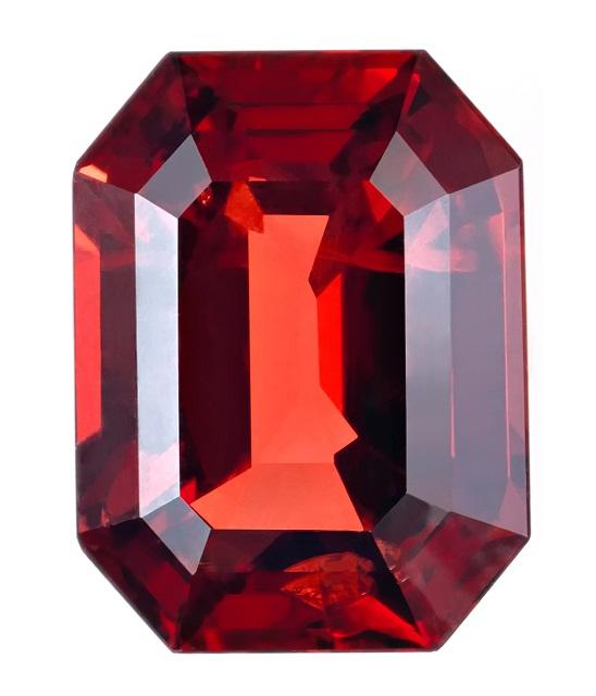красный драгоценный камень Рубин фото