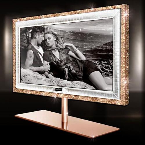дорогой телевизор из золота с бриллиантами фото