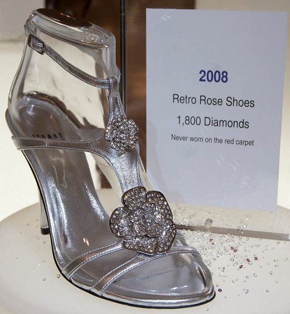 самые дорогие и красивые туфли в мире: Retro Rose. фото