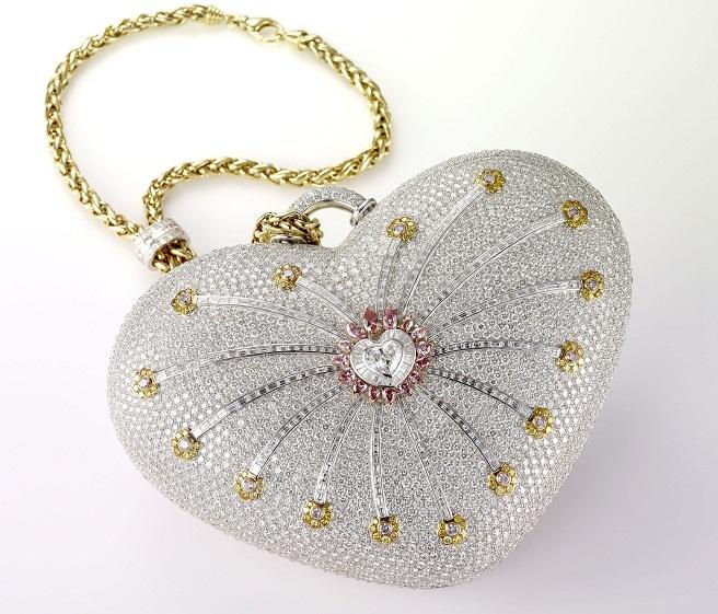 The Mouawad 1001 Nights Diamond Purse самая дорогая женская сумка в мире