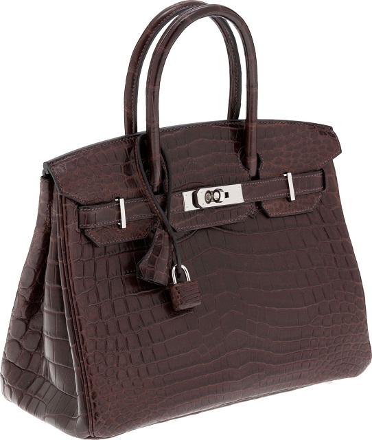 дорогая сумка Nilo Birkin Bag от Hermès