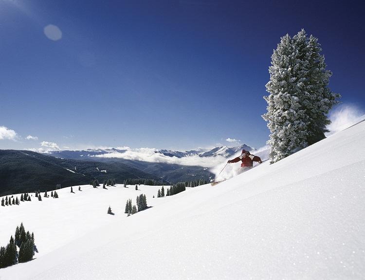 Вейл / Vail горнолыжный курорт (США). фото