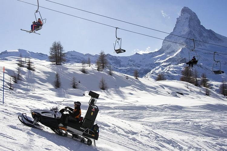 лучшие горнолыжные курорты Швейцарии: Церматт / Zermatt. фото