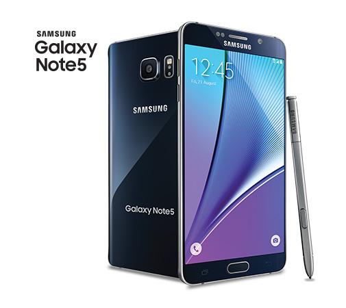 самые лучшие смартфоны Samsung: Galaxy Note 5 32Gb