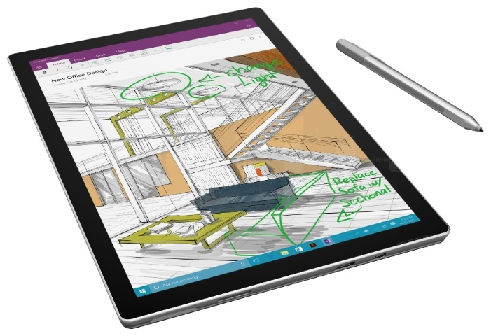 планшет с хорошей камерой Microsoft Surface Pro 4 i5 4Gb 128Gb