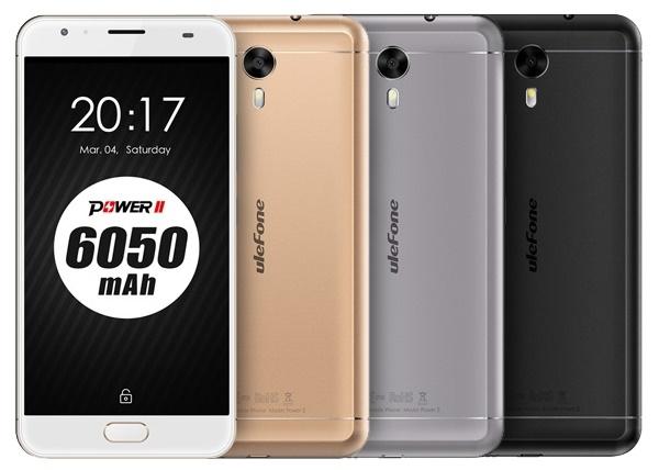 китайские смартфоны хорошего качества: Ulefone Power 2
