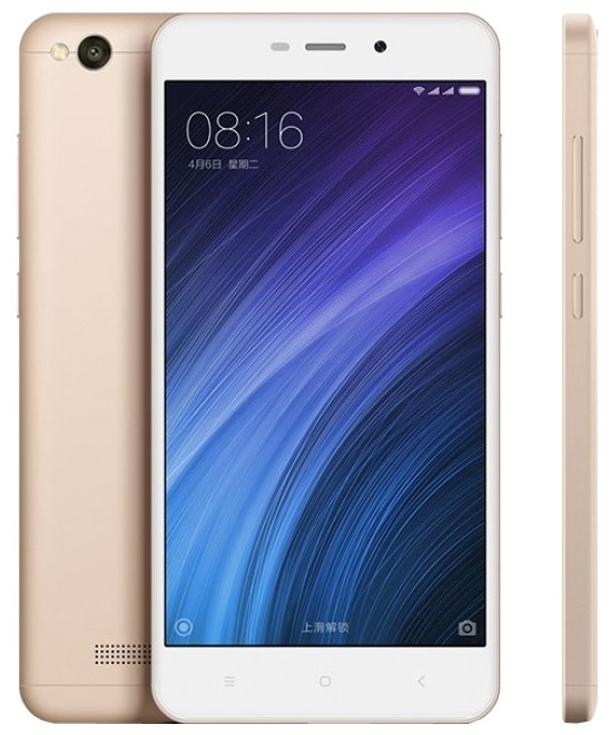 топ-10 телефонов Шаоми: Xiaomi Redmi 4A 16Gb