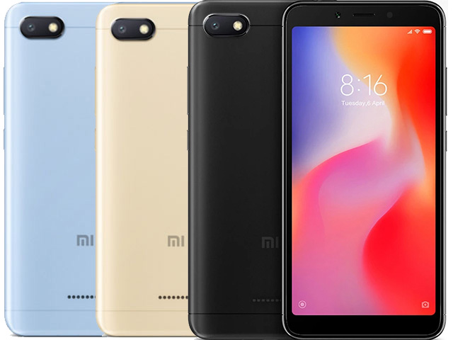 смартфоны до 3000 гривень: Xiaomi Redmi 6A 216GB