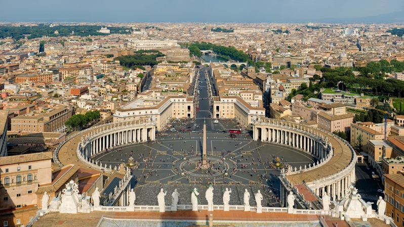 Самые маленькие государства Европы: Ватикан. Фото