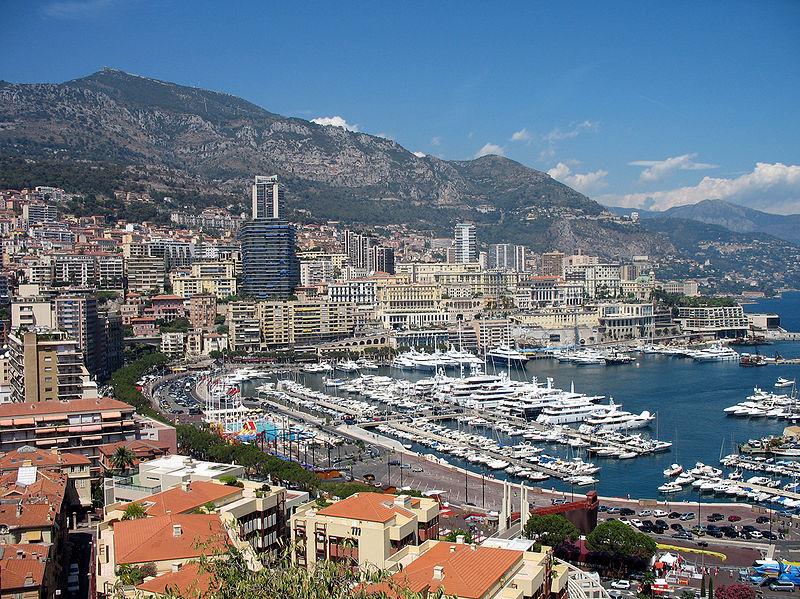 Самые маленькие государства Европы: княжество Монако. Фото