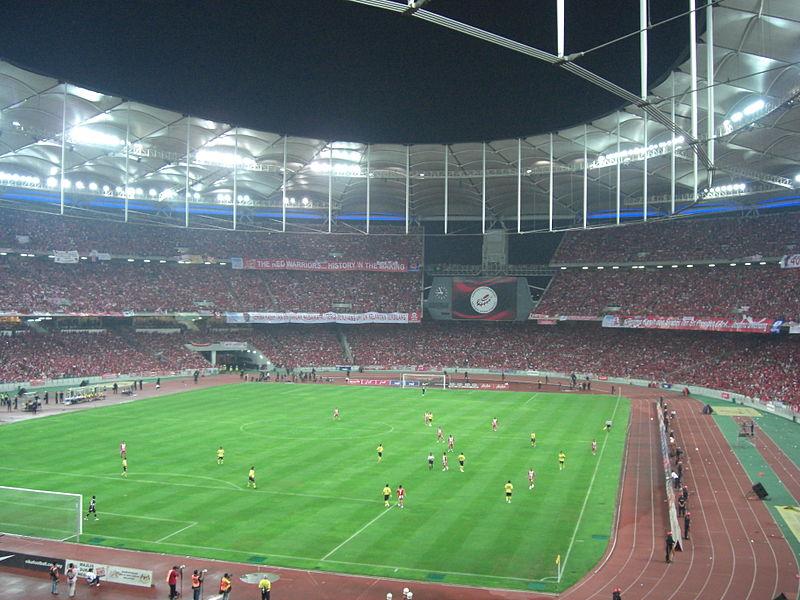 крупнейшие футбольные стадионы мира: Букит Джалил. Фото / Bukit Jalil National Stadium. Photo