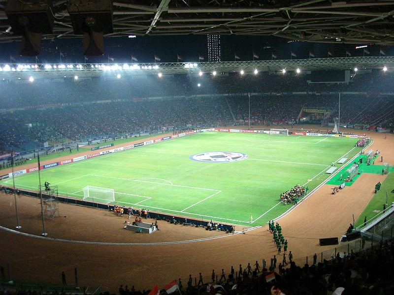 самые большие футбольные стадионы в мире: Бунг Карно. Фото / Gelora Bung Karno Stadium. Photo
