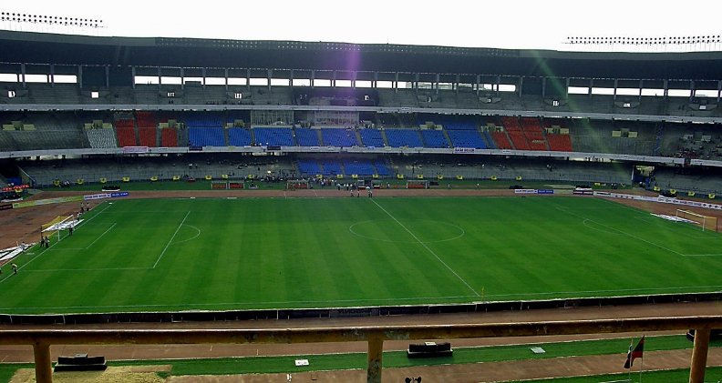 Стадион индийской молодёжи. Фото / Stadium of the Indian Youth (Salt Lake Stadium). Photo